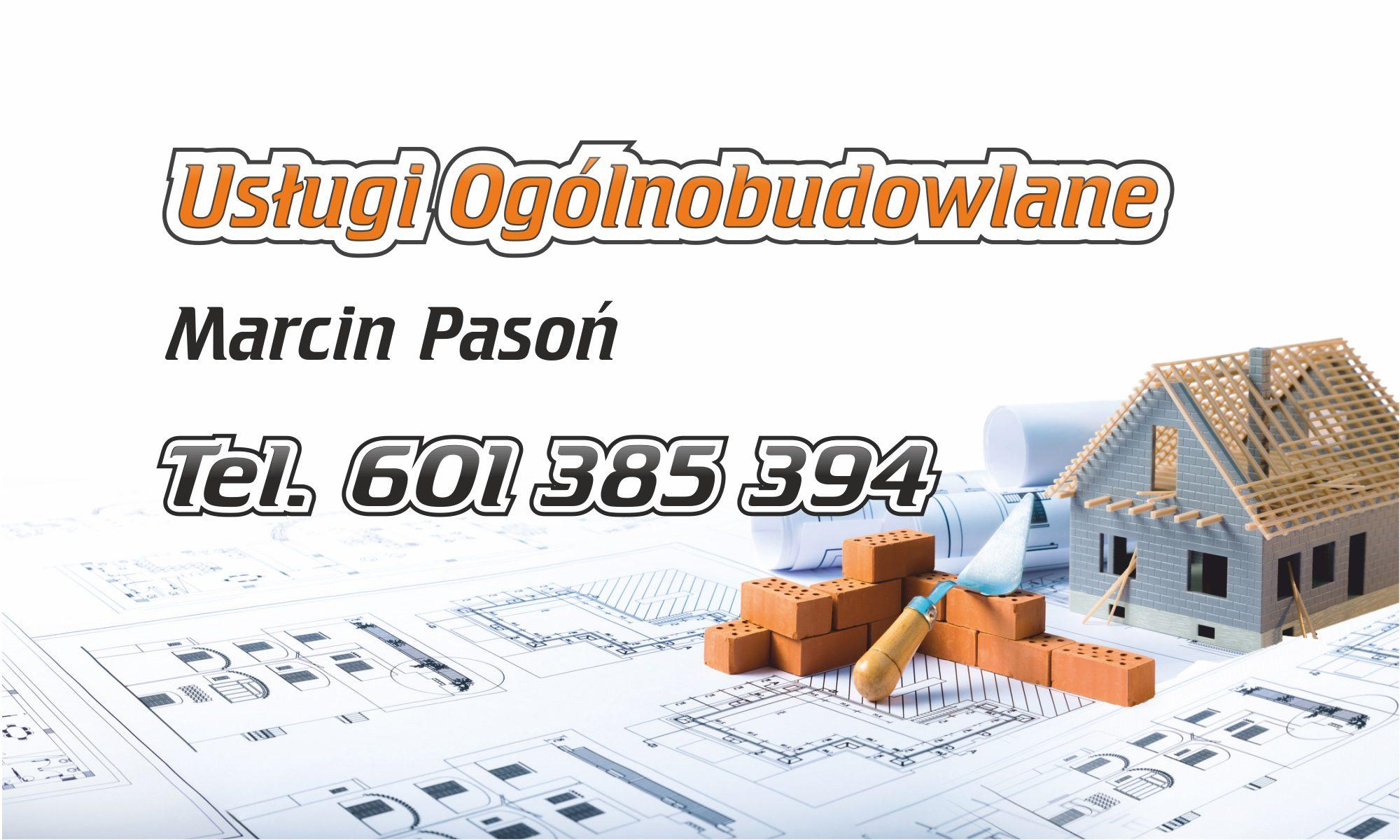 pasoń-bau usługi budowlane